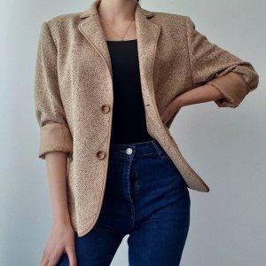 Basler Blazer in tweed beige chiaro-beige Lana
