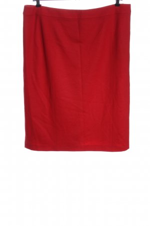 Basler Pencil Skirt red casual look