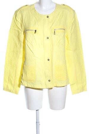 Basler Veste chemisier jaune primevère style décontracté