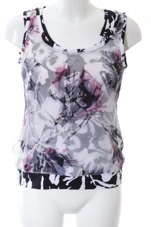 Basler Blouse topje abstract patroon casual uitstraling