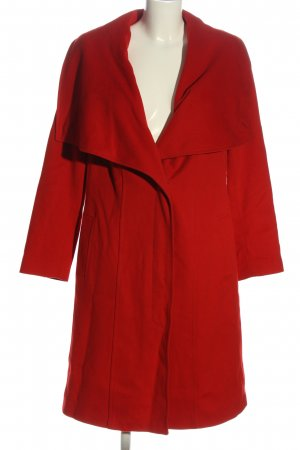 Basler bodenlanger Mantel rot Casual-Look