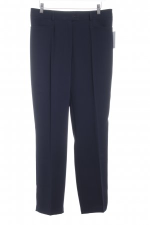 Basler Bundfaltenhose dunkelblau klassischer Stil
