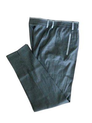 Basler Pantalon à pinces gris anthracite-gris