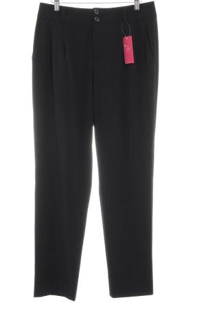 Basler Pantalone chino nero stile professionale