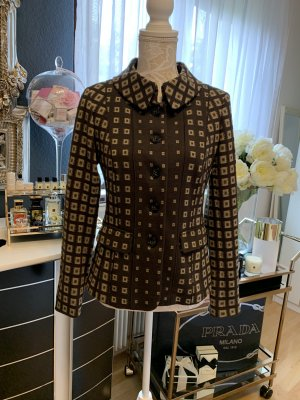 Basler Black Label Blazer in lana marrone-beige Lana