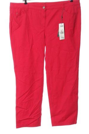 Basler Pantalone cinque tasche rosso stile casual