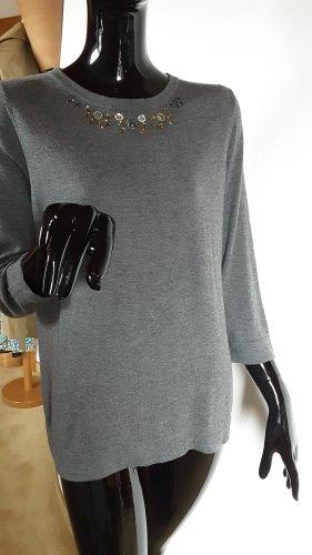 Basler Wool Sweater grey