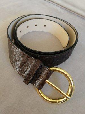 Basler Leather Belt dark brown