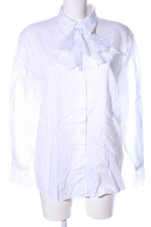 Basler Blouse-chemisier blanc style d'affaires