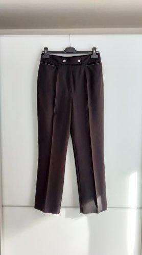 Basler Drainpipe Trousers black
