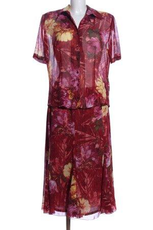 Basler Kostüm Blumenmuster Business-Look