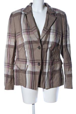 Basler Short Blazer check pattern casual look