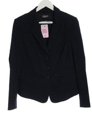 Basler Short Blazer black allover print business style