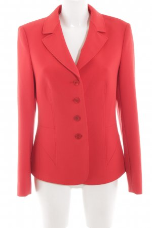 Basler Blazer court rouge style d'affaires