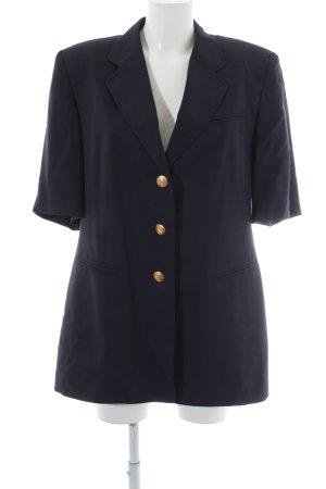 Basler Kurzarm-Bluse schwarz klassischer Stil