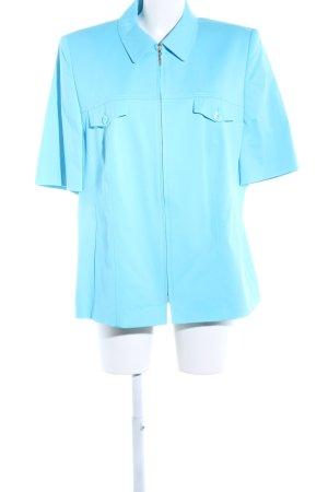 Basler Kurzjacke blau Casual-Look