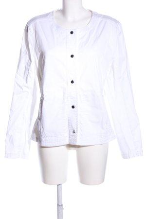 Basler Veste courte blanc style décontracté