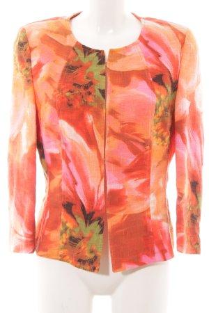 Basler Kurzjacke florales Muster Elegant