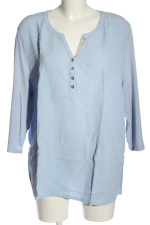 Basler Camicetta a maniche lunghe blu stile casual