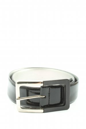 Basler Leather Belt black casual look