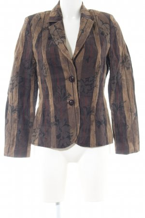 Basler Long-Blazer Blumenmuster Street-Fashion-Look