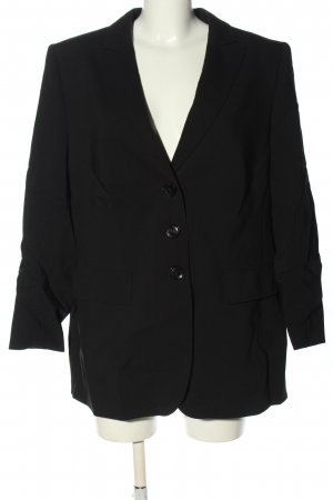 Basler Blazer long noir style d'affaires