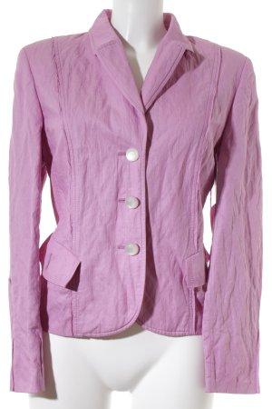 Basler Long-Blazer rosa klassischer Stil