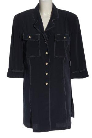 Basler Lange blouse blauw casual uitstraling