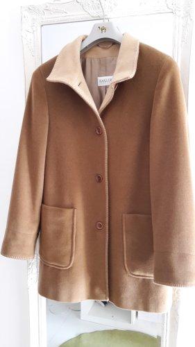 Basler Blazer en laine marron clair-brun sable tissu mixte