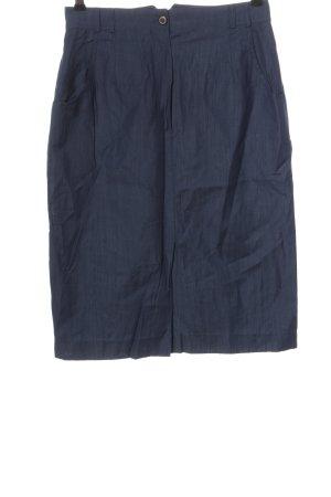 Basler Midi-rok blauw casual uitstraling