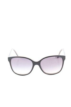 Kästner Ovale zonnebril zwart casual uitstraling