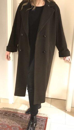 Basler Oversized Mantel Wolle schokobraun M L XL 38 40 42 Vintage