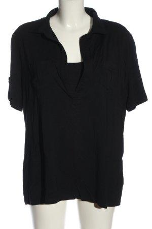 Basler Koszulka polo czarny W stylu casual