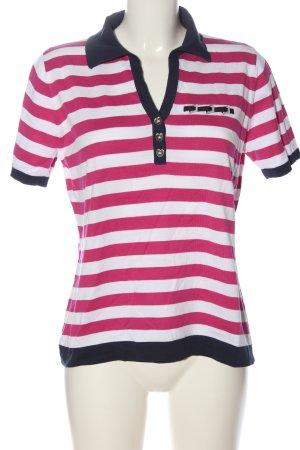 Basler Polo-Shirt Allover-Druck Casual-Look