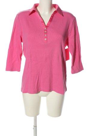 Basler Polo Shirt pink casual look
