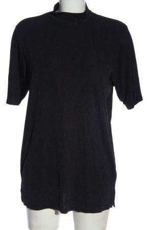 Basler Koszulka z golfem czarny W stylu casual
