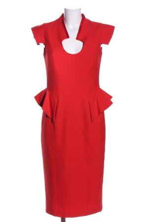 Basler Schößchenkleid rot Elegant
