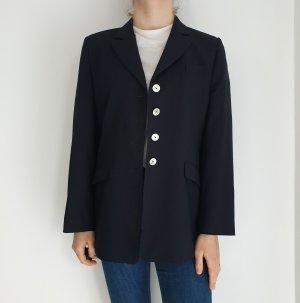 Basler schwarz 40 Schwarz True Vintage Mantel Trenchcoat leichte Jacke Oversize