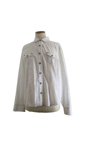 Basler Long Sleeve Blouse white