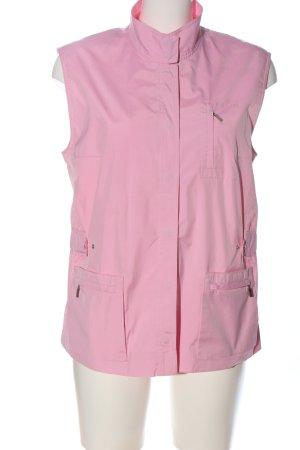 Basler Pikowana kamizelka różowy W stylu casual