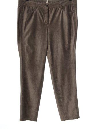 Basler Pantalone jersey marrone stile casual