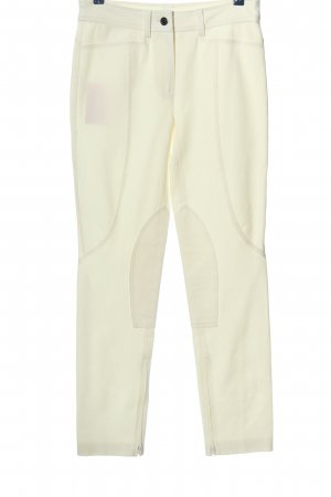 Basler Pantalone jersey bianco stile casual