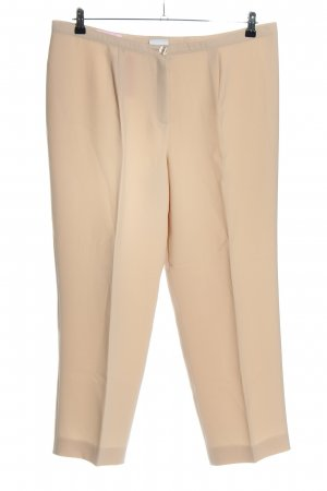 Basler Stoffhose creme Business-Look