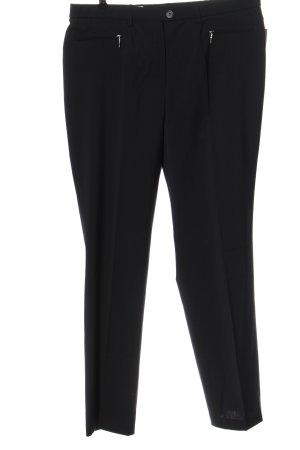 Basler Pantalone jersey nero stile casual