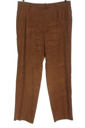 Basler Jersey Pants brown casual look