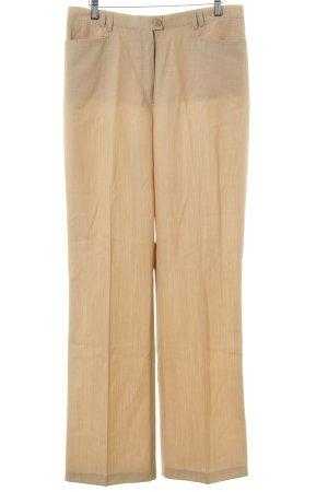 Basler Stoffhose creme-beige Business-Look