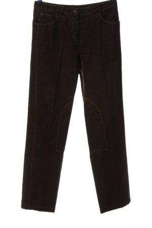 Basler Straight-Leg Jeans braun Casual-Look