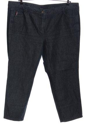 Basler Jeans a gamba dritta blu stile casual