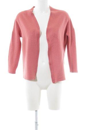 Basler Cardigan tricotés rose tissu mixte