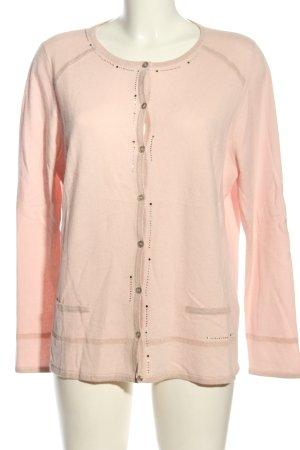 Basler Strickjacke pink Casual-Look